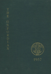 1957 Edition, Oxford School - Oxfordian Yearbook (Hartford, CT)