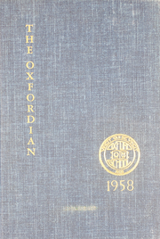 1958 Edition, Oxford School - Oxfordian Yearbook (Hartford, CT)