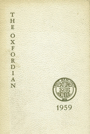 1959 Edition, Oxford School - Oxfordian Yearbook (Hartford, CT)