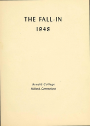 Page 3, 1948 Edition, Arnold College - Fall In Yearbook (Milford, CT) online yearbook collection