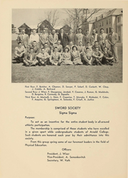 Page 42, 1948 Edition, Arnold College - Fall In Yearbook (Milford, CT) online yearbook collection