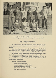 Page 43, 1948 Edition, Arnold College - Fall In Yearbook (Milford, CT) online yearbook collection