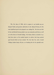Page 7, 1948 Edition, Arnold College - Fall In Yearbook (Milford, CT) online yearbook collection