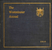 1910 Edition, Westminster School - Annual Yearbook (Simsbury, CT)