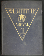 1914 Edition, Westminster School - Annual Yearbook (Simsbury, CT)