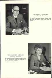 Page 11, 1963 Edition, Hartford College for Women - Highlander Yearbook (Hartford, CT) online yearbook collection