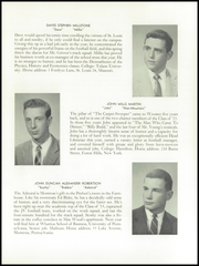 Page 13, 1955 Edition, Wooster School - Woosteria Yearbook (Danbury, CT) online yearbook collection