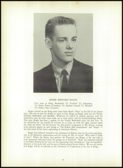 Page 12, 1955 Edition, King School - Kingsmen Yearbook (Stamford, CT) online yearbook collection