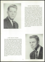 Page 12, 1957 Edition, King School - Kingsmen Yearbook (Stamford, CT) online yearbook collection
