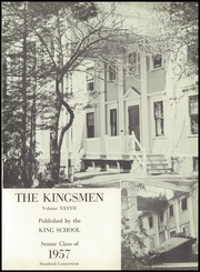 Page 5, 1957 Edition, King School - Kingsmen Yearbook (Stamford, CT) online yearbook collection