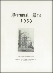 Page 7, 1953 Edition, Hamden Hall Country Day School - Perennial Pine Yearbook (New Haven, CT) online yearbook collection