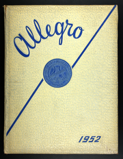 1952 Edition, Hartt College of Music - Allegro Yearbook (West Hartford, CT)