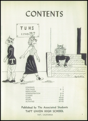 Page 5, 1953 Edition, Taft Union High School and Junior College - Derrick Yearbook (Taft, CA) online yearbook collection