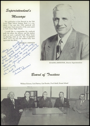 Page 12, 1955 Edition, Taft Union High School and Junior College - Derrick Yearbook (Taft, CA) online yearbook collection