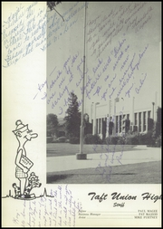 Page 6, 1955 Edition, Taft Union High School and Junior College - Derrick Yearbook (Taft, CA) online yearbook collection
