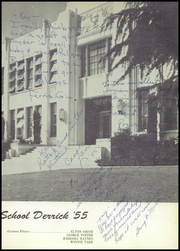 Page 7, 1955 Edition, Taft Union High School and Junior College - Derrick Yearbook (Taft, CA) online yearbook collection