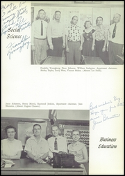 Page 17, 1956 Edition, Taft Union High School and Junior College - Derrick Yearbook (Taft, CA) online yearbook collection