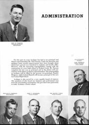Page 6, 1951 Edition, Acalanes High School - Aklan Yearbook (Lafayette, CA) online yearbook collection