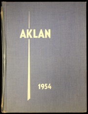 Acalanes High School - Aklan Yearbook (Lafayette, CA) online yearbook collection, 1954 Edition, Page 1