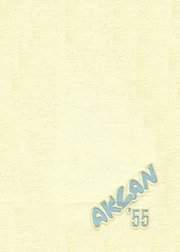 Acalanes High School - Aklan Yearbook (Lafayette, CA) online yearbook collection, 1955 Edition, Page 1