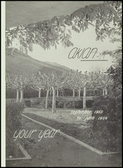Page 5, 1956 Edition, Acalanes High School - Aklan Yearbook (Lafayette, CA) online yearbook collection