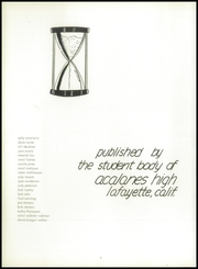 Page 6, 1956 Edition, Acalanes High School - Aklan Yearbook (Lafayette, CA) online yearbook collection