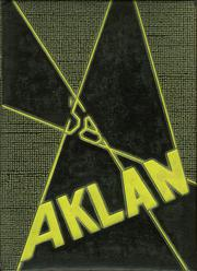 Acalanes High School - Aklan Yearbook (Lafayette, CA) online yearbook collection, 1958 Edition, Page 1