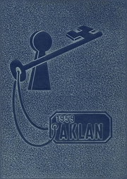 Acalanes High School - Aklan Yearbook (Lafayette, CA) online yearbook collection, 1959 Edition, Page 1