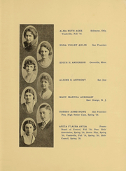 Page 10, 1920 Edition, Berkeley High School - Berkeley High School Yearbook (Berkeley, CA) online yearbook collection