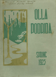 Berkeley High School - Olla Podrida Yearbook (Berkeley, CA) online yearbook collection, 1925 Edition, Page 1