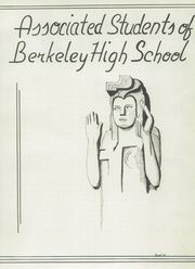 Page 11, 1939 Edition, Berkeley High School - Berkeley High School Yearbook (Berkeley, CA) online yearbook collection