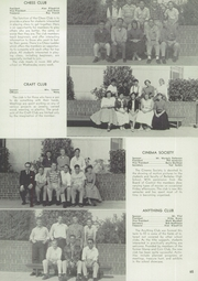 Page 69, 1957 Edition, Berkeley High School - Olla Podrida Yearbook (Berkeley, CA) online yearbook collection