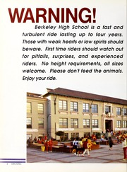 Page 8, 1987 Edition, Berkeley High School - Berkeley High School Yearbook (Berkeley, CA) online yearbook collection