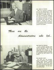 Page 10, 1955 Edition, David Starr Jordan High School - Trailblazer Yearbook (Long Beach, CA) online yearbook collection
