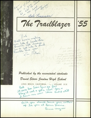 Page 7, 1955 Edition, David Starr Jordan High School - Trailblazer Yearbook (Long Beach, CA) online yearbook collection