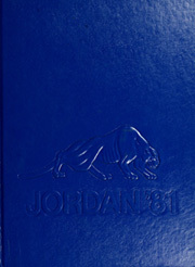 1981 Edition, David Starr Jordan High School - Trailblazer Yearbook (Long Beach, CA)