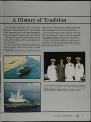 Page 11, 1993 Edition, USS Roosevelt (CVN 71) - Naval Cruise Book online yearbook collection