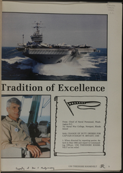 Page 5, 1993 Edition, USS Roosevelt (CVN 71) - Naval Cruise Book online yearbook collection