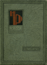 Page 1, 1929 Edition, Huntington Park High School - El Recuerdo Yearbook (Huntington Park, CA) online yearbook collection