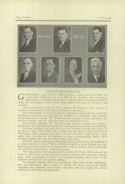 Page 16, 1930 Edition, Huntington Park High School - El Recuerdo Yearbook (Huntington Park, CA) online yearbook collection