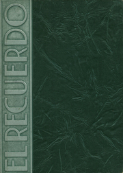 Page 1, 1937 Edition, Huntington Park High School - El Recuerdo Yearbook (Huntington Park, CA) online yearbook collection