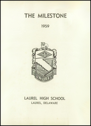 Page 5, 1959 Edition, Laurel High School - Milestone Yearbook (Laurel, DE) online yearbook collection