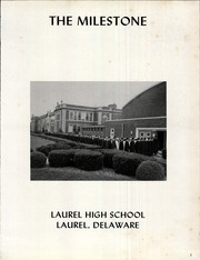 Page 5, 1965 Edition, Laurel High School - Milestone Yearbook (Laurel, DE) online yearbook collection