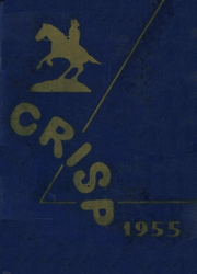 1955 Edition, Caesar Rodney High School - Crisp Yearbook (Wyoming, DE)