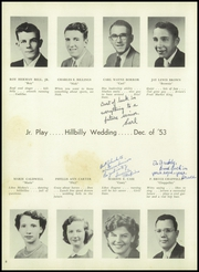Page 12, 1955 Edition, Caesar Rodney High School - Crisp Yearbook (Wyoming, DE) online yearbook collection