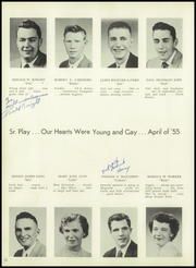 Page 16, 1955 Edition, Caesar Rodney High School - Crisp Yearbook (Wyoming, DE) online yearbook collection