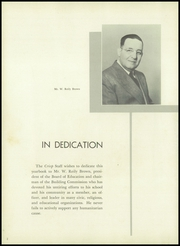 Page 6, 1955 Edition, Caesar Rodney High School - Crisp Yearbook (Wyoming, DE) online yearbook collection