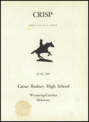 Page 5, 1957 Edition, Caesar Rodney High School - Crisp Yearbook (Wyoming, DE) online yearbook collection