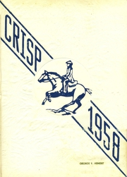 1958 Edition, Caesar Rodney High School - Crisp Yearbook (Wyoming, DE)