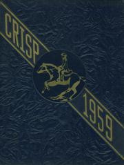 1959 Edition, Caesar Rodney High School - Crisp Yearbook (Wyoming, DE)